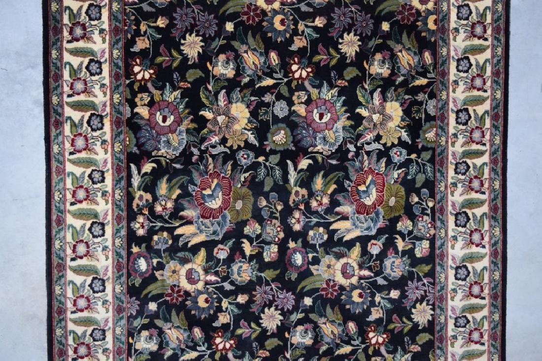 HAND WOVEN ORIENTAL FLORAL RUG 4X6 - 4