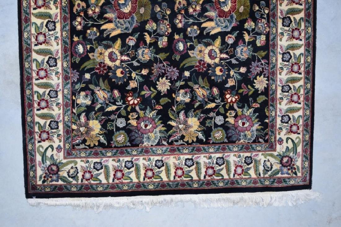 HAND WOVEN ORIENTAL FLORAL RUG 4X6 - 5