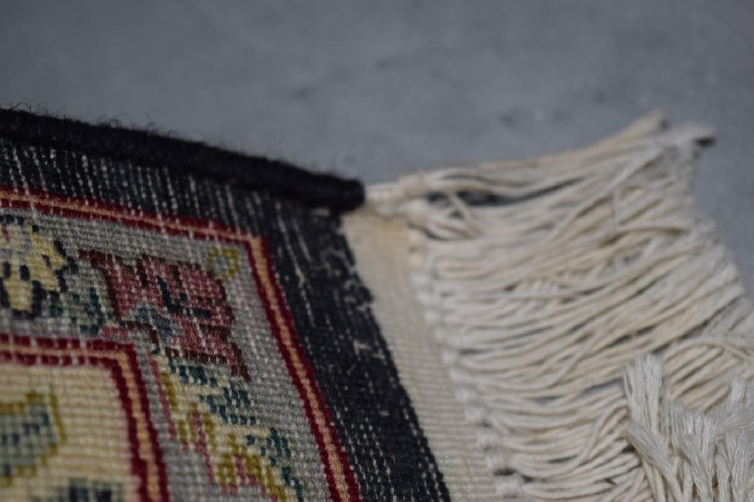 HAND WOVEN ORIENTAL FLORAL RUG 4X6 - 9