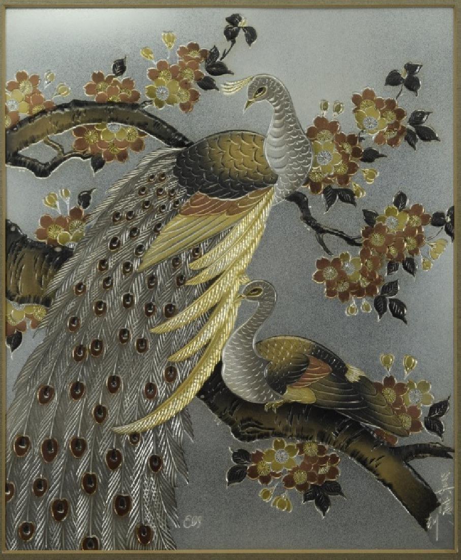 1983 CHOKIN ART BIRDS BY YOSHINOBU HARA #0211