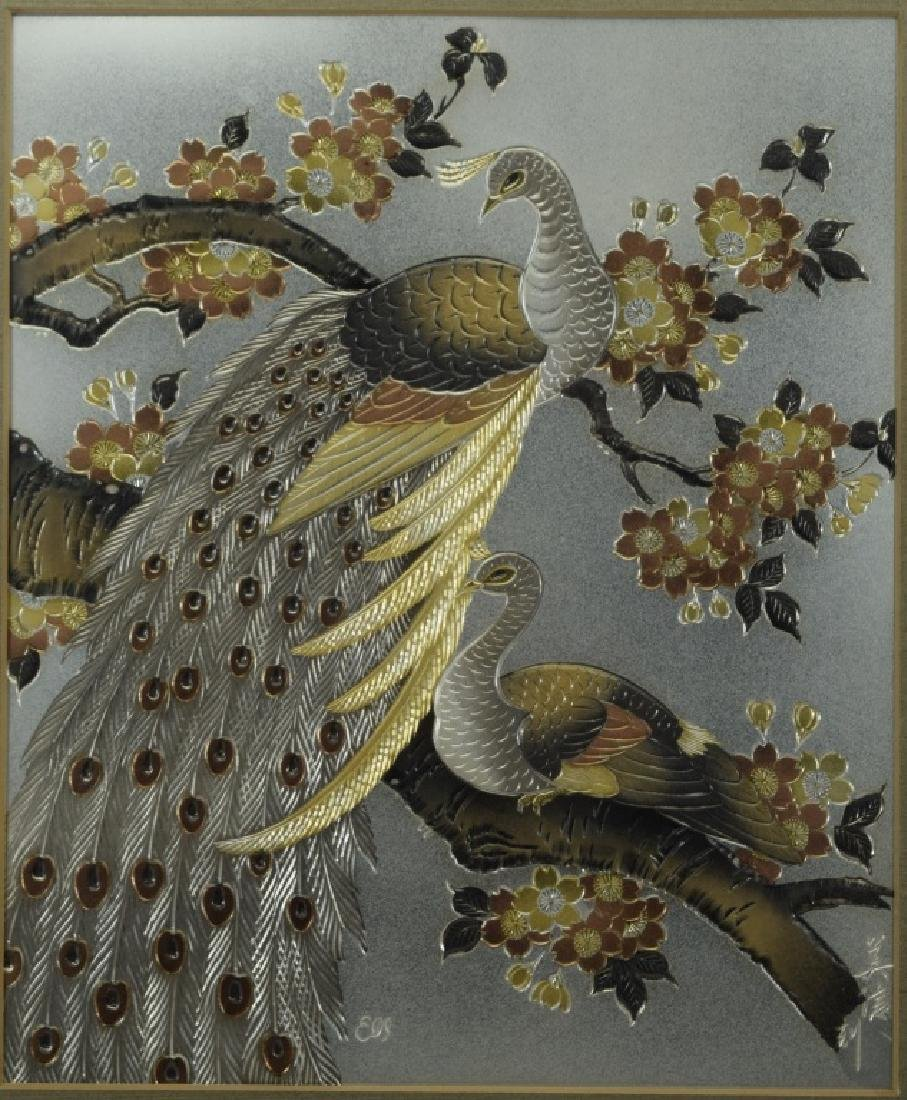 1983 CHOKIN ART BIRDS BY YOSHINOBU HARA #0211 - 2
