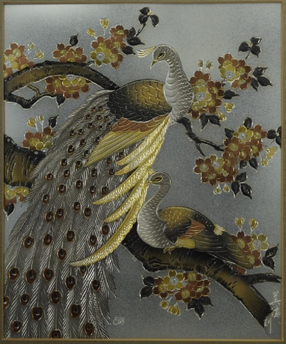 1983 CHOKIN ART BIRDS BY YOSHINOBU HARA #0211 - 3