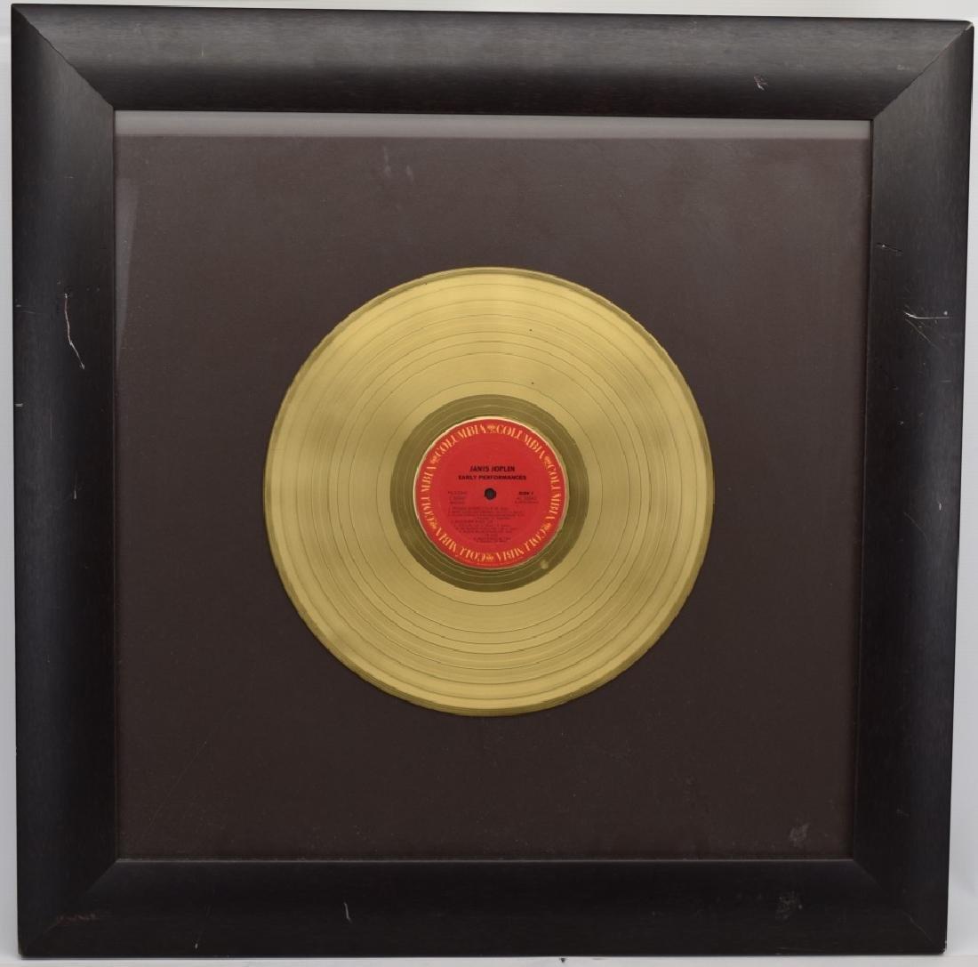 "JANIS JOPLIN GOLD COLUMBIA ""EARLY PERFORMANCES"""