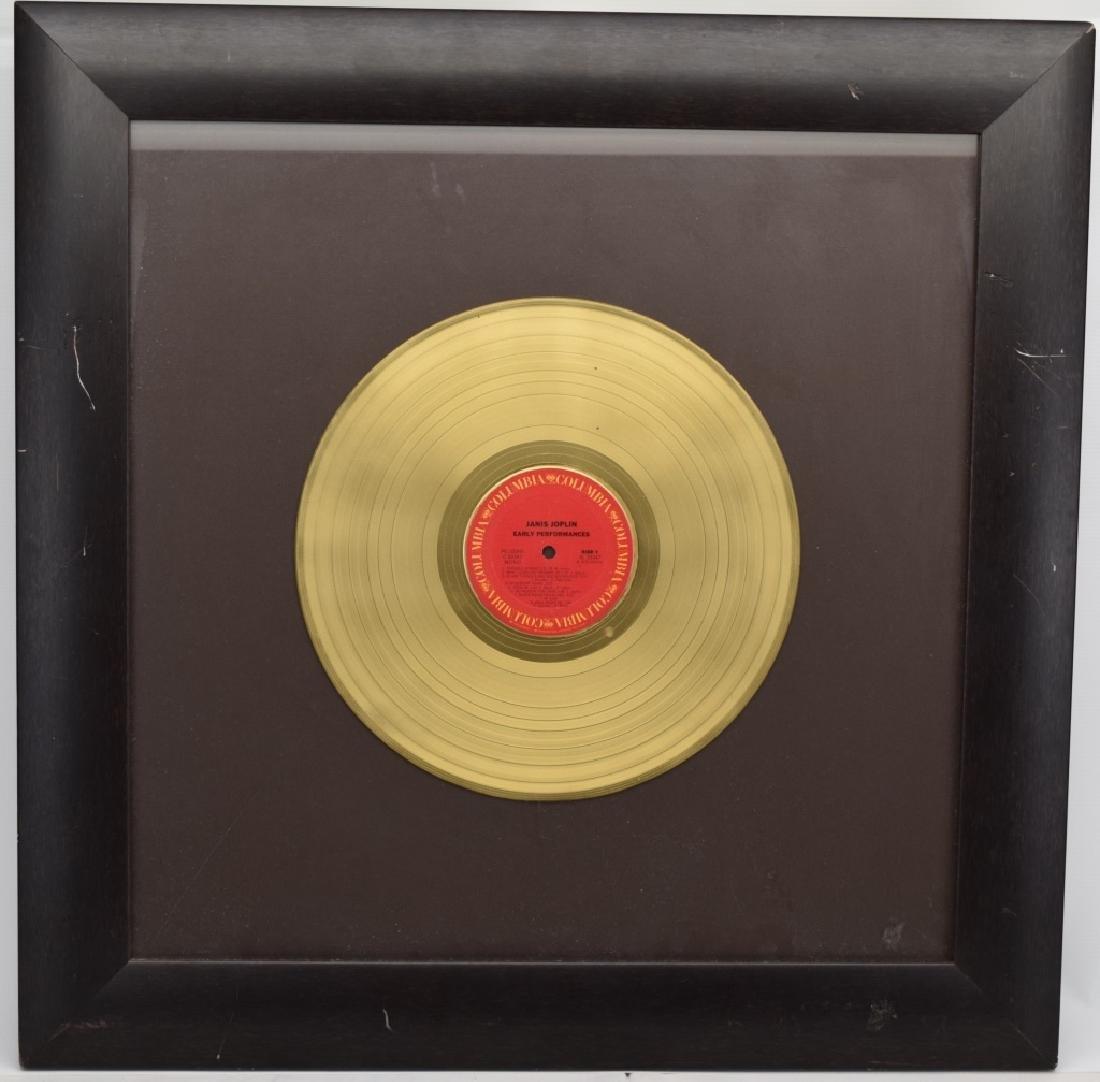 "JANIS JOPLIN GOLD COLUMBIA ""EARLY PERFORMANCES"" - 2"