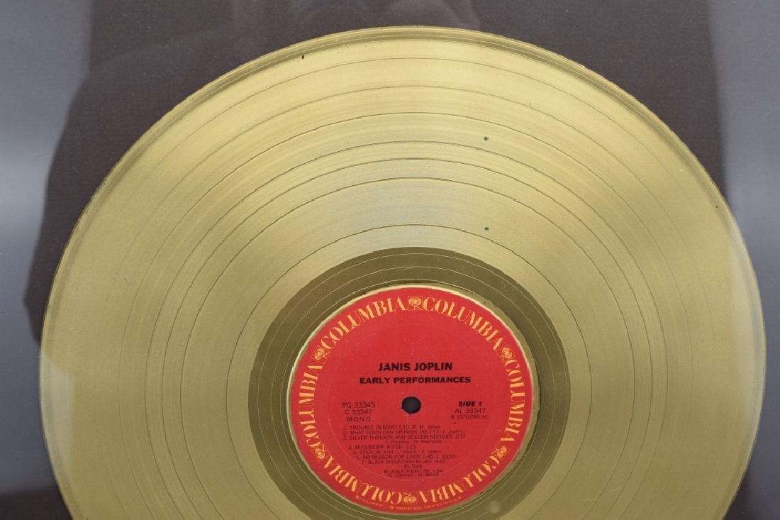 "JANIS JOPLIN GOLD COLUMBIA ""EARLY PERFORMANCES"" - 4"