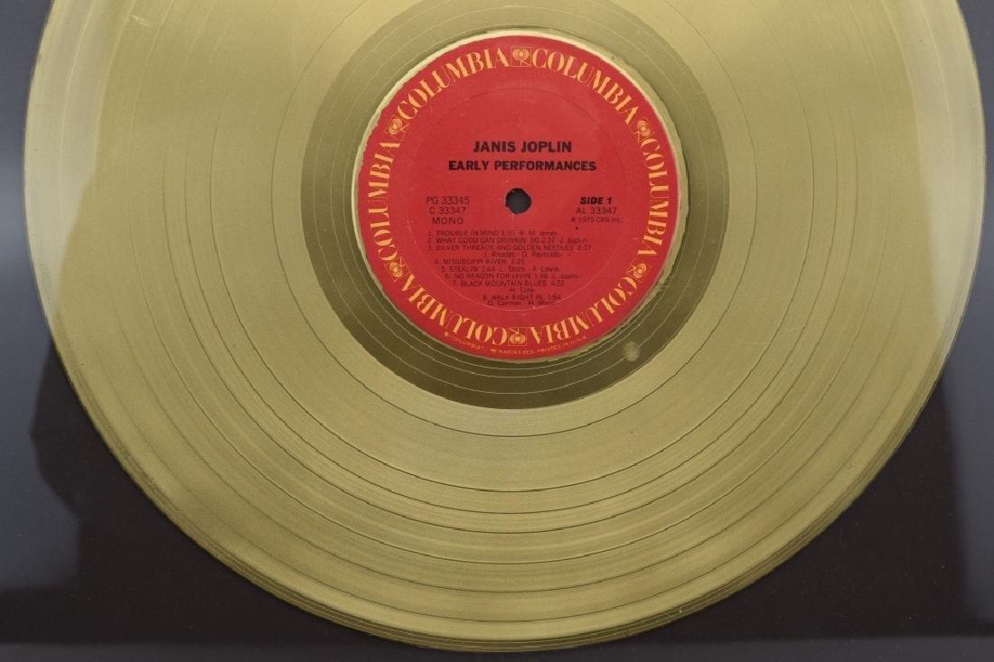"JANIS JOPLIN GOLD COLUMBIA ""EARLY PERFORMANCES"" - 5"
