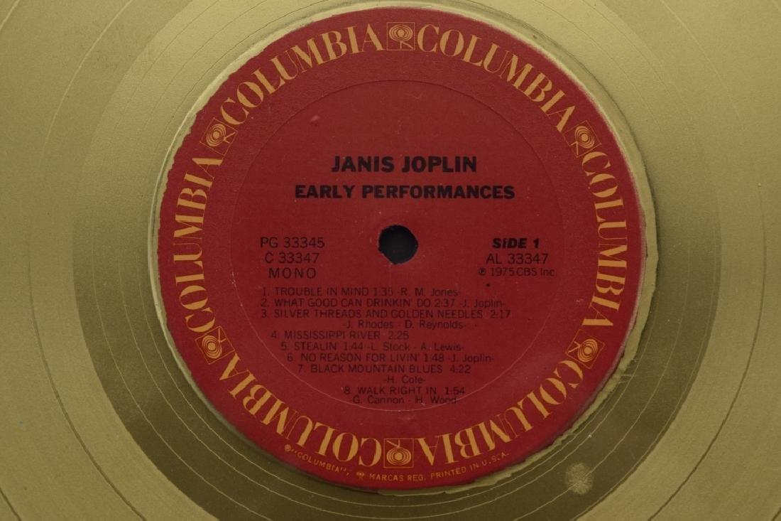 "JANIS JOPLIN GOLD COLUMBIA ""EARLY PERFORMANCES"" - 6"