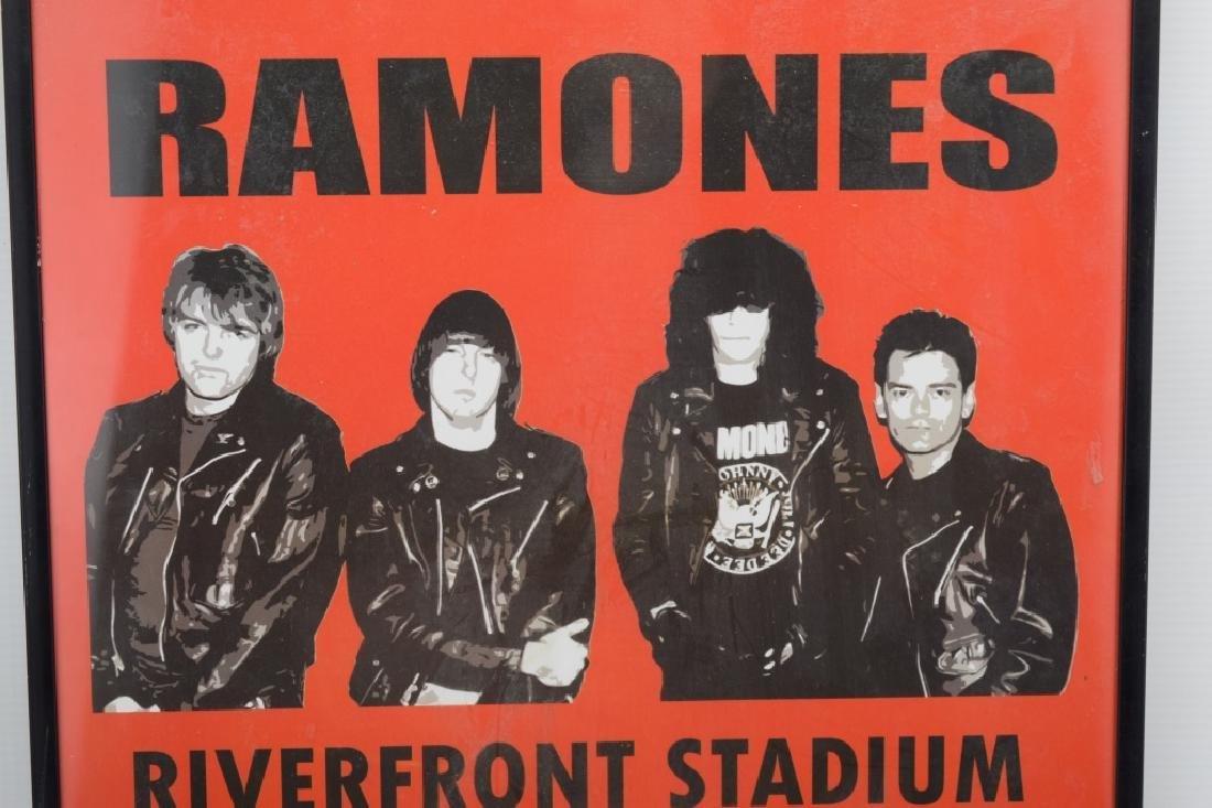 THE RAMONES RIVERFRONT STADIUM CONCERT POSTER - 7