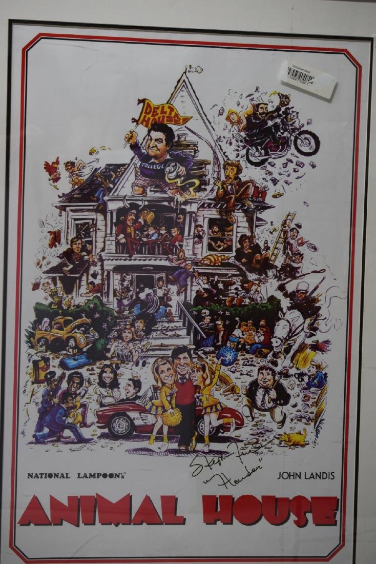 ANIMAL HOUSE MOVIE POSTER SIGNED STEPHEN FAUST - 4