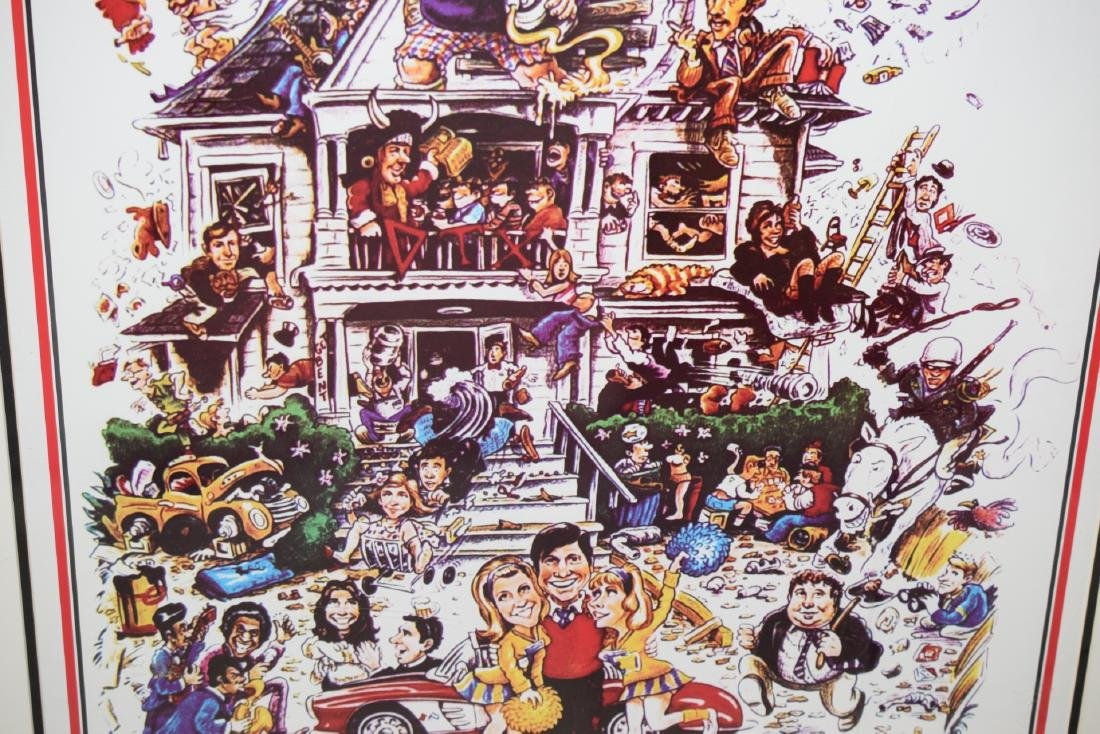 ANIMAL HOUSE MOVIE POSTER SIGNED STEPHEN FAUST - 7