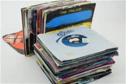VINTAGE COLLECTION OF 45 RPM RECORDS