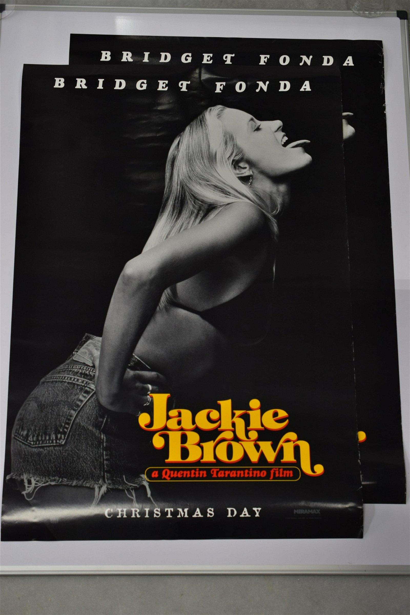 3 JACKIE BROWN MOVIE POSTERS FONDA & DE NIRO