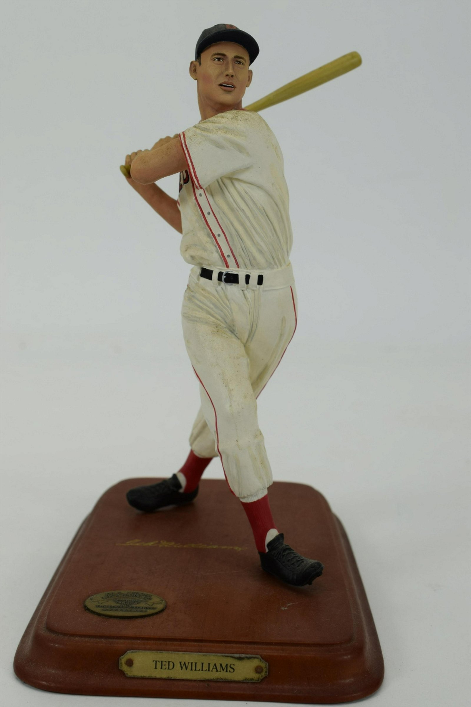 TED WILLIAMS SCULPTURE BY DANBURY MINT