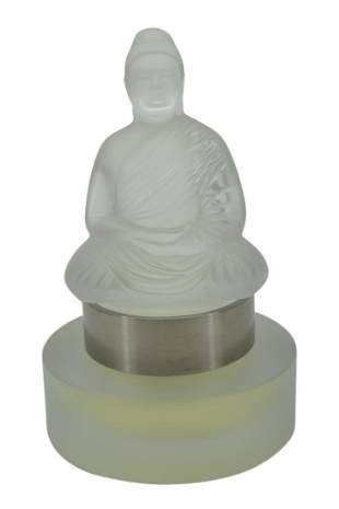 LALIQUE CRYSTAL FLACON LIMITED EDITION BOUDDHA