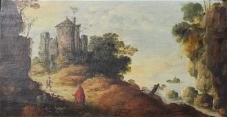 ATTR. JOOS DE MOMPER (1564-1635) OIL PAINTING
