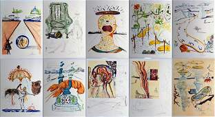 SALVADOR DALI IMAGINATIONS & OBJECTS OF THE FUTURE