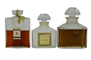 GUERLAIN VINTAGE PERFUMES & JICKY FLACON