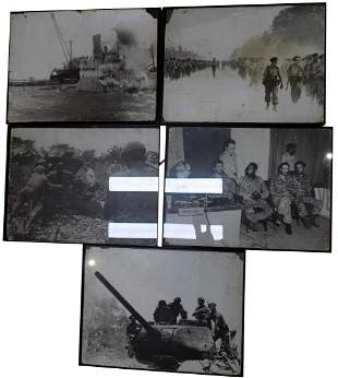COLLECTION OF CUBAN MILITARY PHOTOGRAPHS