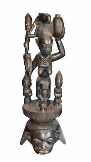 LARGE AFRICAN CARVING