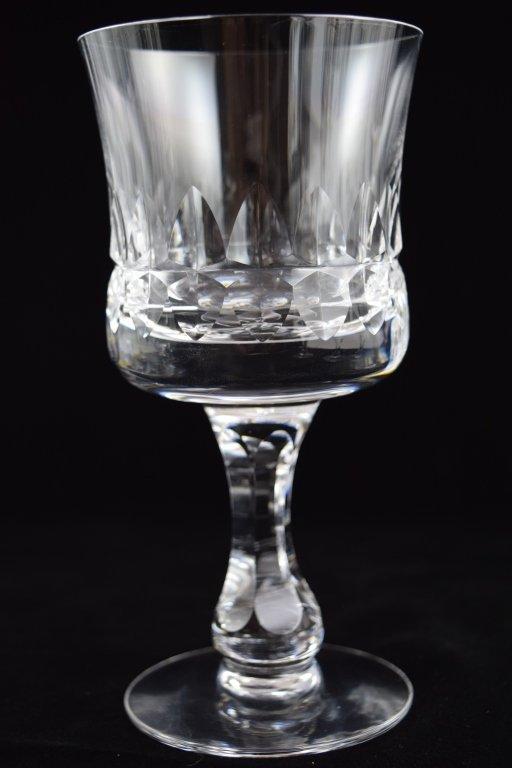 11 KOSTA BODA PRINCE PATTERN CRYSTAL WATER GOBLETS - 7