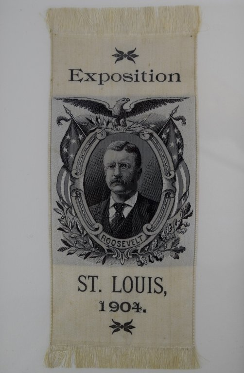 ANDERSON BROTHERS SILK THEODORE ROOSEVELT EXPO