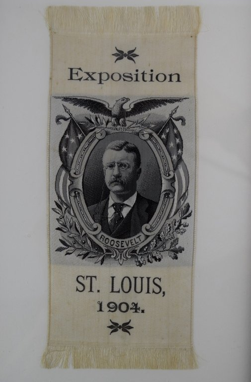 ANDERSON BROTHERS SILK THEODORE ROOSEVELT EXPO - 5