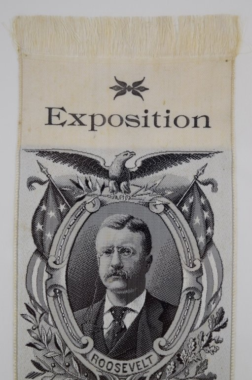ANDERSON BROTHERS SILK THEODORE ROOSEVELT EXPO - 6