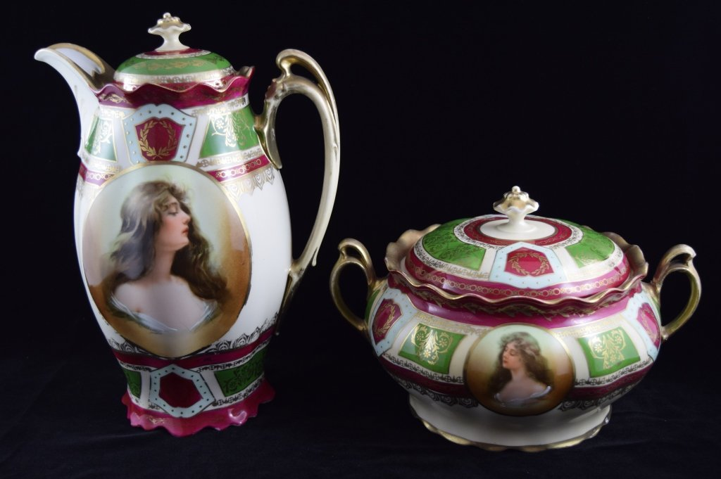 ROYAL VIENNA SOUP & COFFEE TEA PITCHER SET
