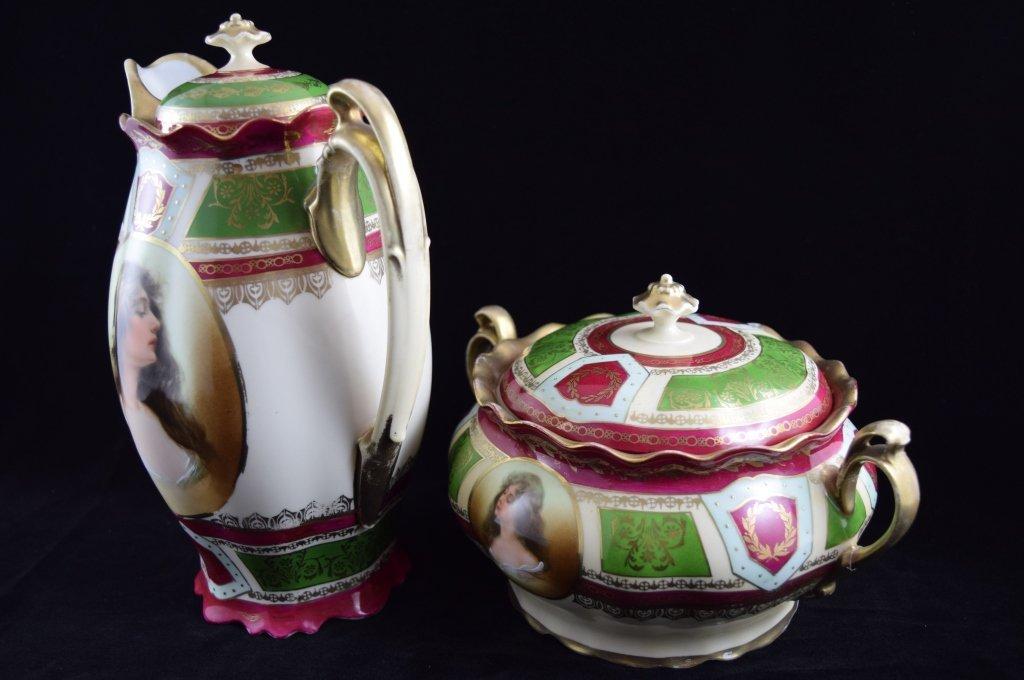 ROYAL VIENNA SOUP & COFFEE TEA PITCHER SET - 2