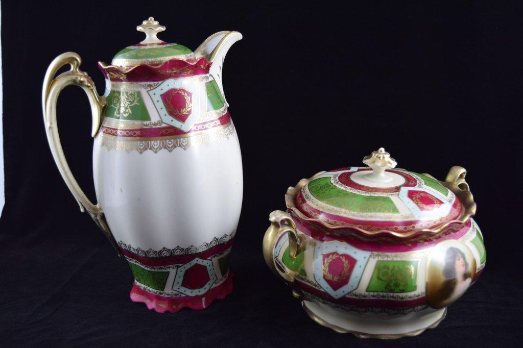 ROYAL VIENNA SOUP & COFFEE TEA PITCHER SET - 4