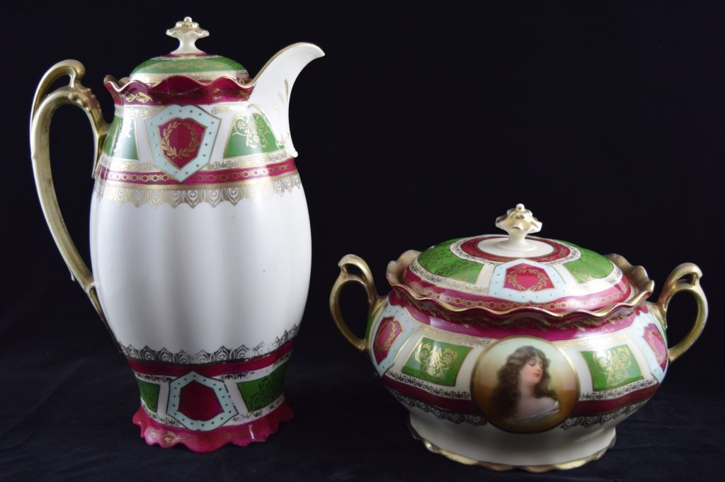 ROYAL VIENNA SOUP & COFFEE TEA PITCHER SET - 5