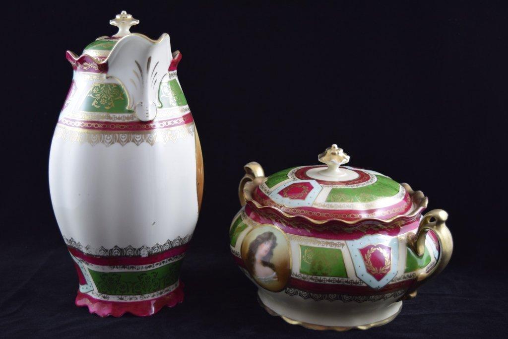 ROYAL VIENNA SOUP & COFFEE TEA PITCHER SET - 6