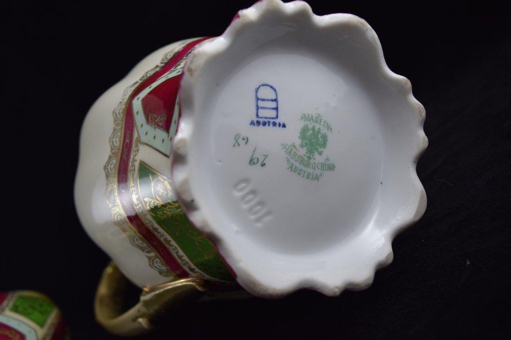 ROYAL VIENNA SOUP & COFFEE TEA PITCHER SET - 9