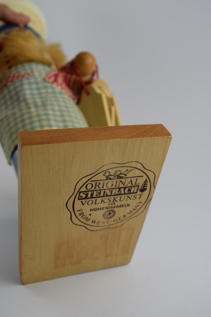 COOK BAKER STEINBACH WOODEN NUTCRACKER - 9