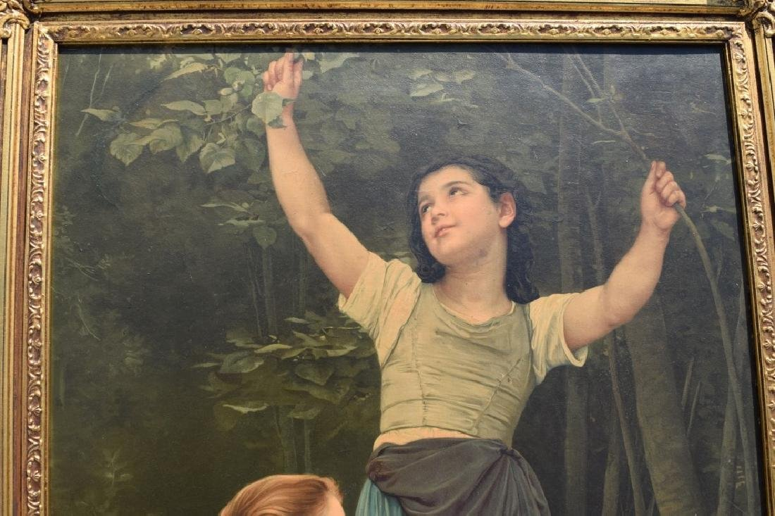 AFTER WILLIAM BOUGUEREAU PAINTING ON BOARD - 3
