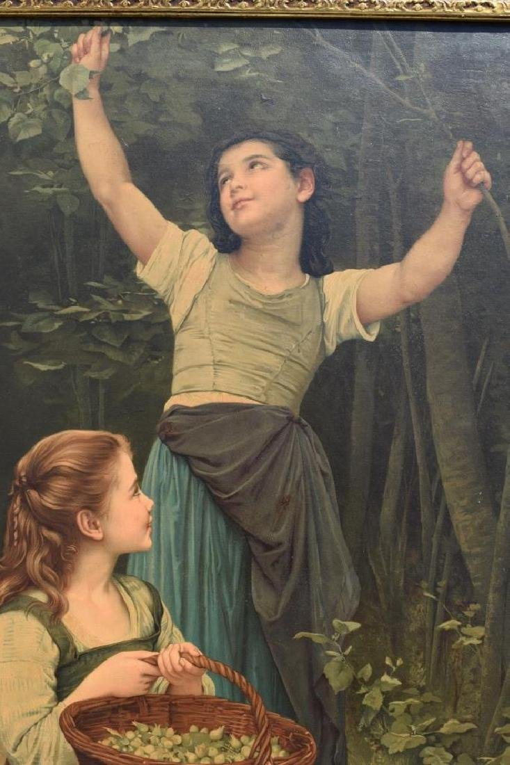 AFTER WILLIAM BOUGUEREAU PAINTING ON BOARD - 8