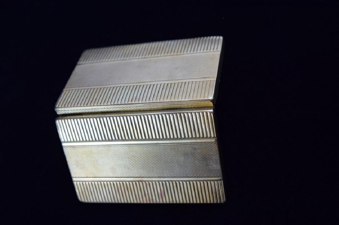 14K GOLD CIGARETTE CASE BOX MATCH VESTA - 10