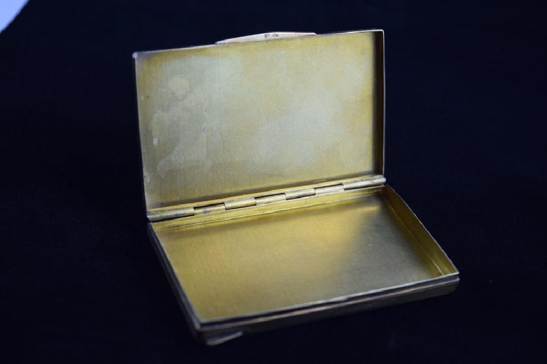 14K GOLD CIGARETTE CASE BOX MATCH VESTA - 11