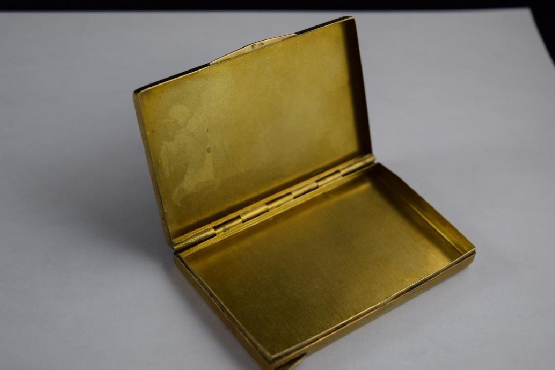 14K GOLD CIGARETTE CASE BOX MATCH VESTA - 5