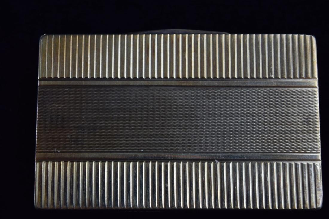 14K GOLD CIGARETTE CASE BOX MATCH VESTA - 8