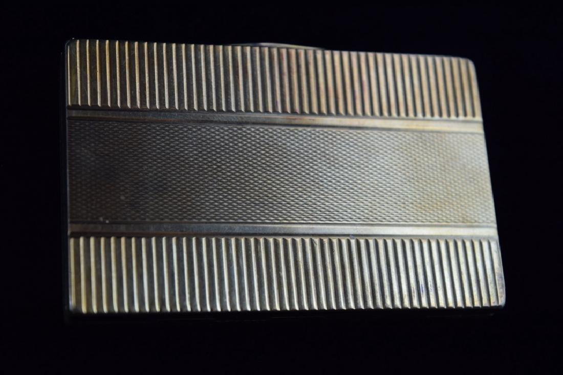 14K GOLD CIGARETTE CASE BOX MATCH VESTA - 9