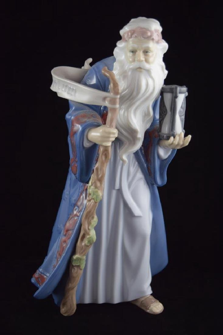 RETIRED LLADRO PORCELAIN FATHER TIME #6696