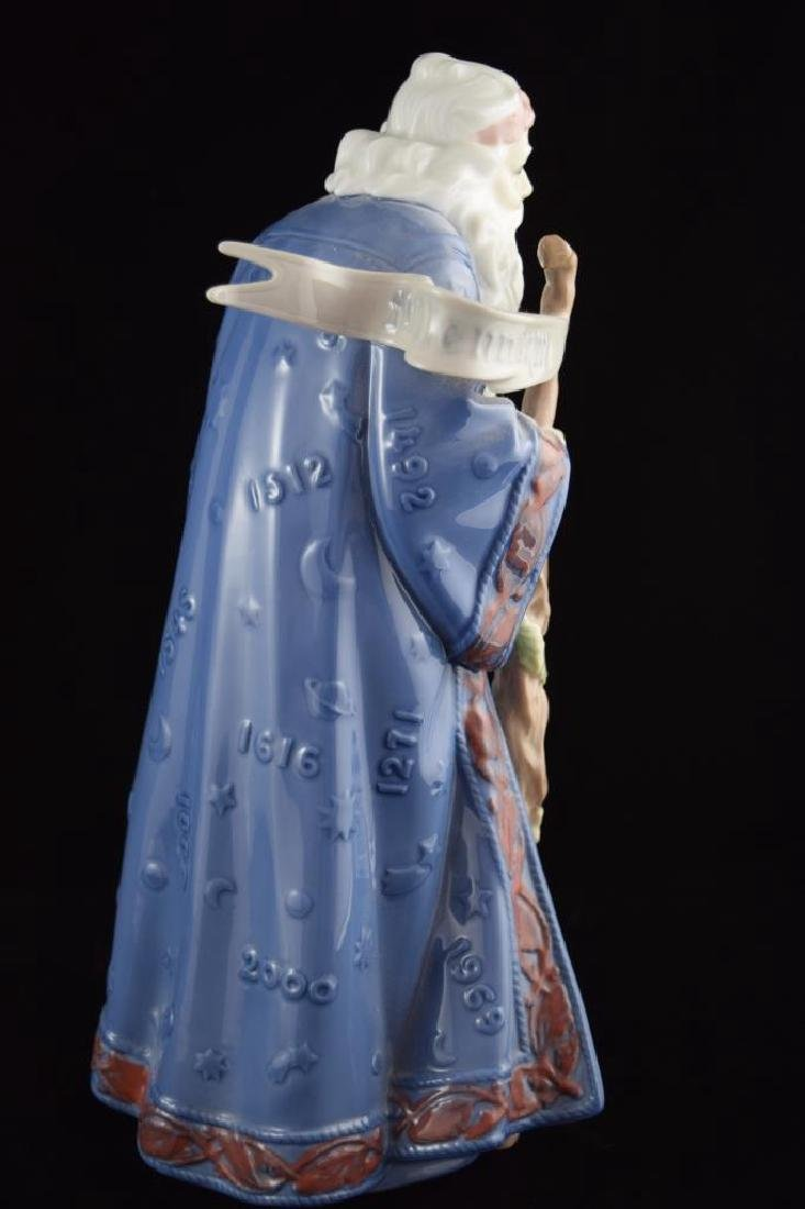 RETIRED LLADRO PORCELAIN FATHER TIME #6696 - 6