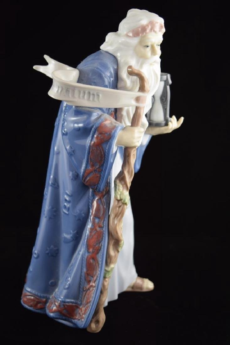 RETIRED LLADRO PORCELAIN FATHER TIME #6696 - 7