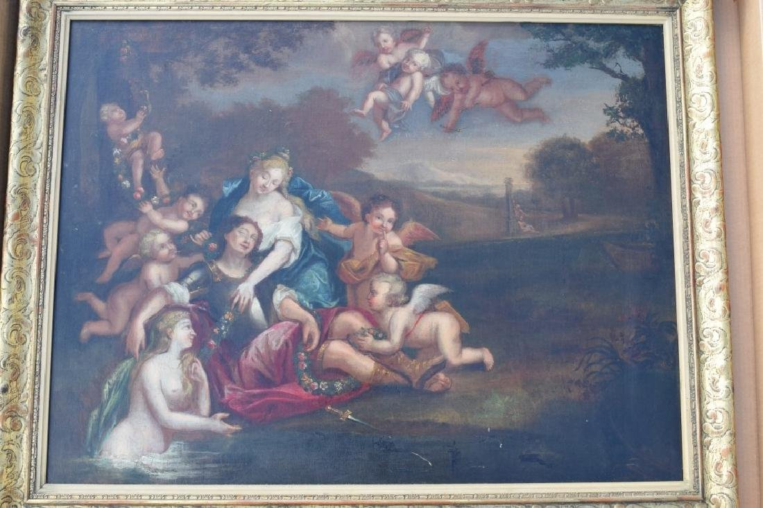 17TH C. FRANCISCO ALBANI OIL ON CANVAS PAINTING - 11