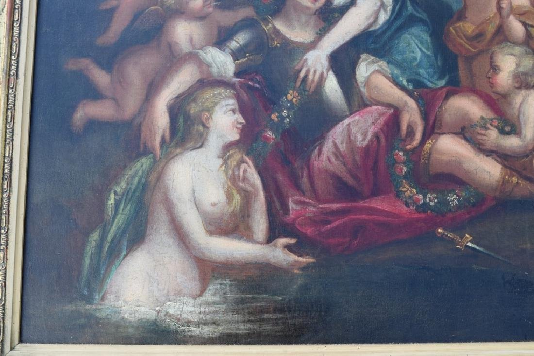 17TH C. FRANCISCO ALBANI OIL ON CANVAS PAINTING - 12