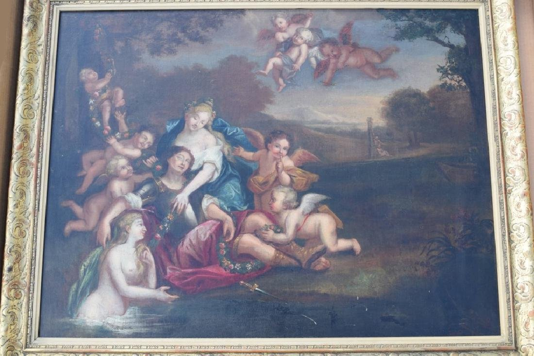 17TH C. FRANCISCO ALBANI OIL ON CANVAS PAINTING - 3