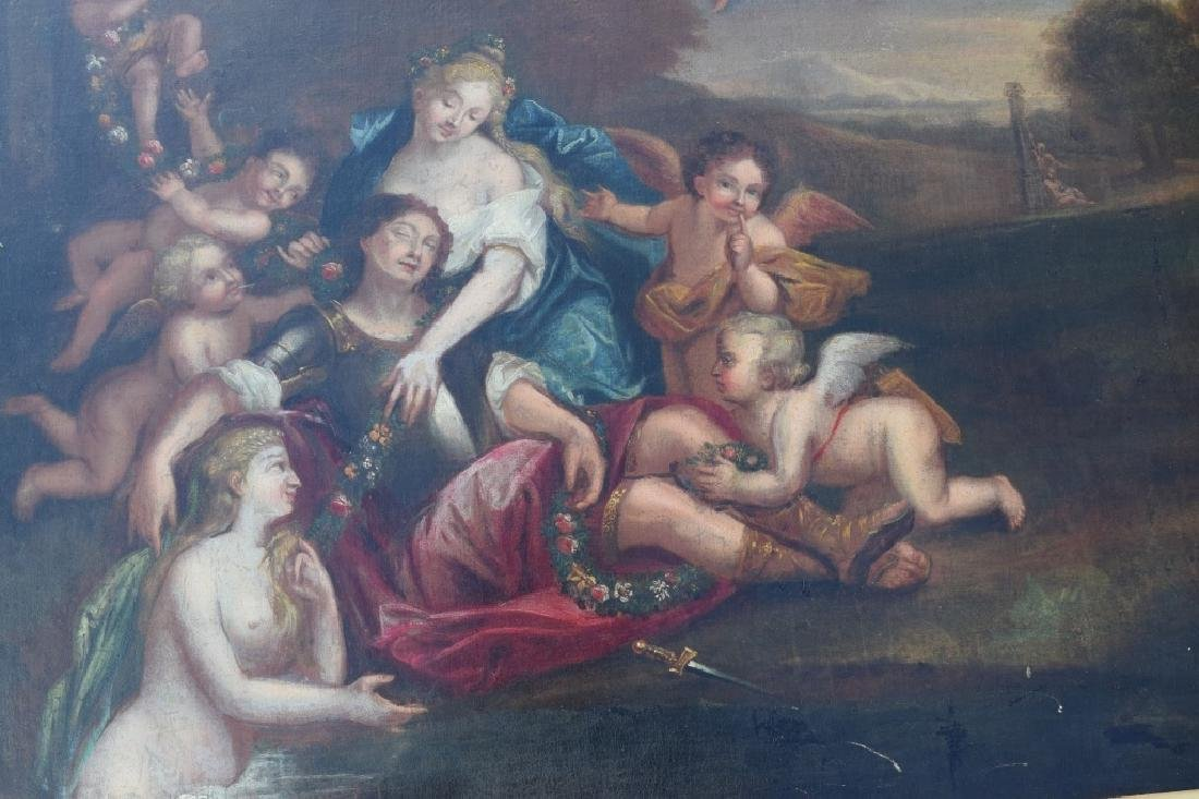 17TH C. FRANCISCO ALBANI OIL ON CANVAS PAINTING - 6