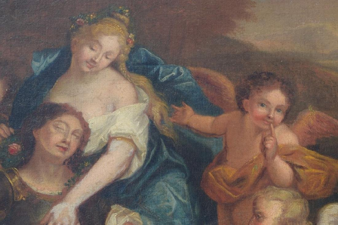 17TH C. FRANCISCO ALBANI OIL ON CANVAS PAINTING - 7