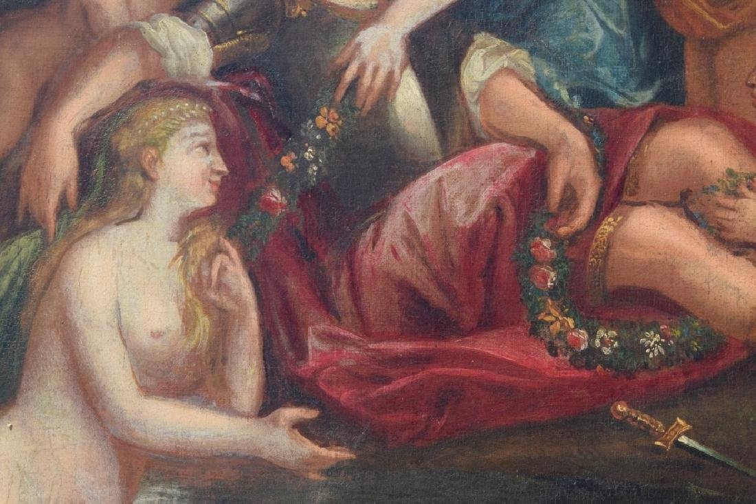 17TH C. FRANCISCO ALBANI OIL ON CANVAS PAINTING - 8